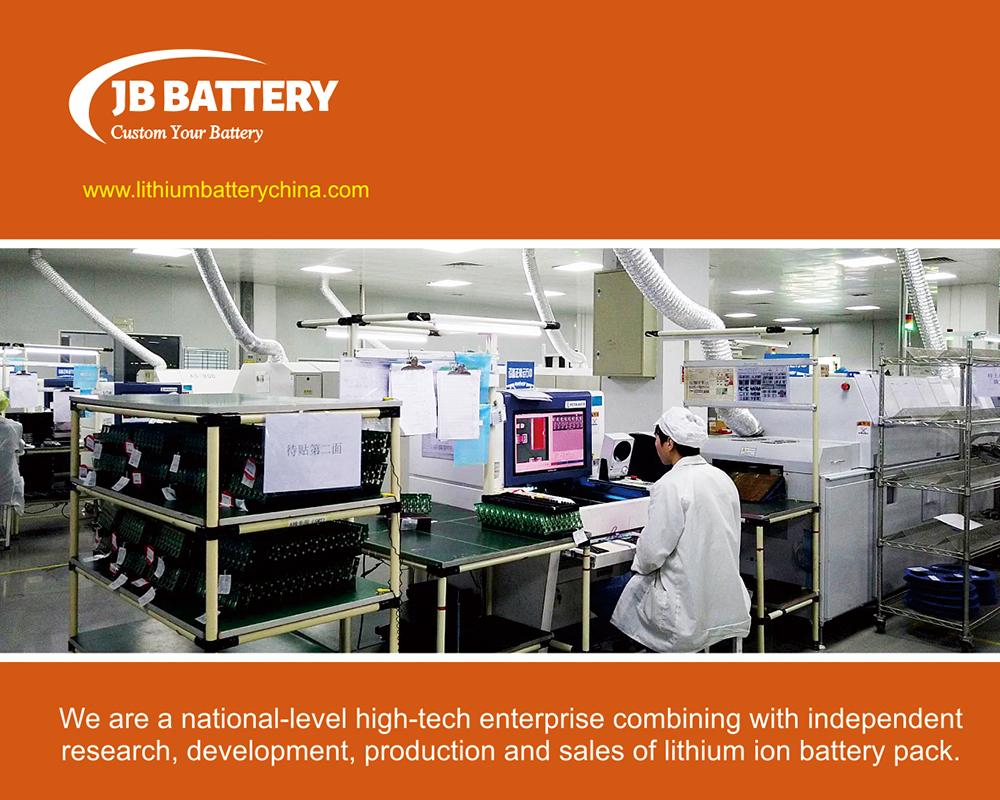 Pack de batterie lithium-ion personnalisé 24